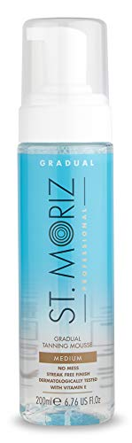 St. Moriz Selbstbräunungs-Mousse Clear Gradual Medium, 200 Ml
