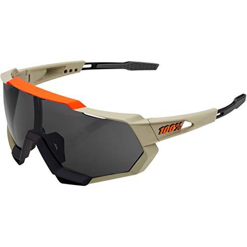 100 Percent Herren SPEEDTRAP - Soft TACT Quicksand - Smoke Lens Sonnenbrille, m