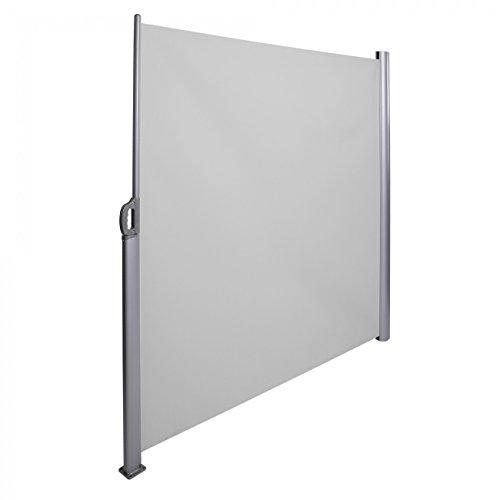 Strattore Tenda da Sole paravento Laterale frangivento Estensibile Verticale 180x300 cm Antracite