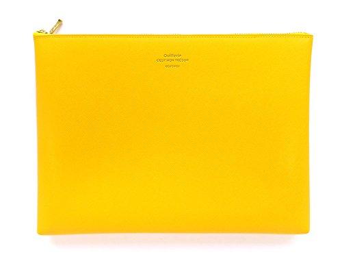 [DELFONICS] Quitterie Multifunctional pouch size L QR11 YELLOW