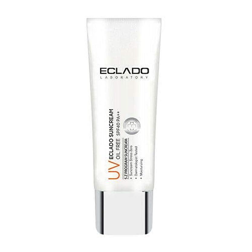 長々と大洪水引数ECLADO Oil Free Sun Cream (40g) SPF40 PA++ 韓国 日焼け止め