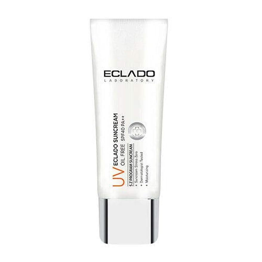 ストライド割合ボトルECLADO Oil Free Sun Cream (40g) SPF40 PA++ 韓国 日焼け止め