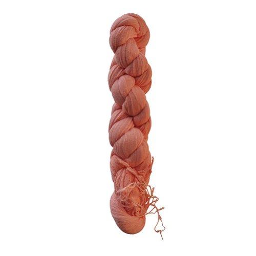 TOUTACOO, Tuch, Schal, Crinkle-Schal, Zusammengedreht, aus Baumwolle - Damen & Herren Crevette