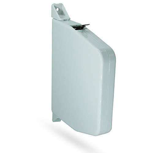 Mini Gurtwickler Aufputz 14mm - schwenkbarer Aufschraubwickler Rolladengurt Reparaturset - OHNE Gurt - 1 Stück