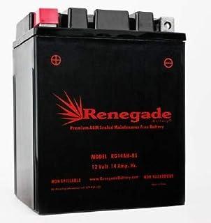 Utility Vehicle Battery; RG14AH-BS; Polaris 2012, 2013. 2014, 2015, 2016, 2017, 2018 Ranger 570/570 Crew / 570 EFI; Part# BTX14AH-BS, YTX14AH-BS, UB14-A2, YB14-B2