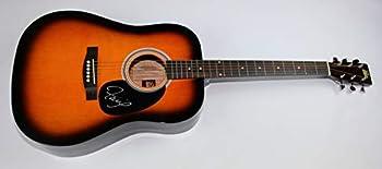 Faith Hill This Kiss Authentic Signed Autographed Sunburst Full Size Acoustic Guitar Loa