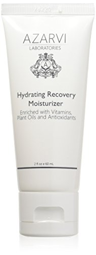 Azarvi Post Peel Hydrating Recovery Moisturizer. Non-Comedogenic Moisturizer for Sensitive Skin. Non-Greasy Jelly Consistency