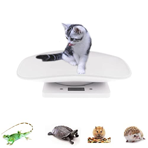 Digital Pet Scale Multi-Function Food Weight Scale, Smart Small Baby Pet Dog Cat Scale 22 Pound (lbs) Capacity, Accurate Digital Scale for Baby/Food Accurately/Puppy/Cat/Small Animals.