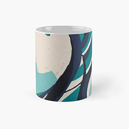 Silhouette Profile Classic Mug Best Gift Funny Coffee Mugs 11 Oz