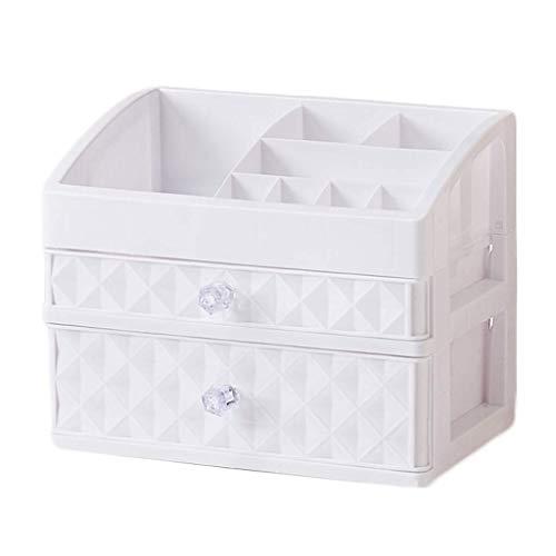 BOX Cosmétiques Boîte de Rangement En Plastique Tabletop Type de Tiroirs Rouge À Lèvres Bijoux Soins de La Peau Produits D'Affichage Boîte de Rangemen