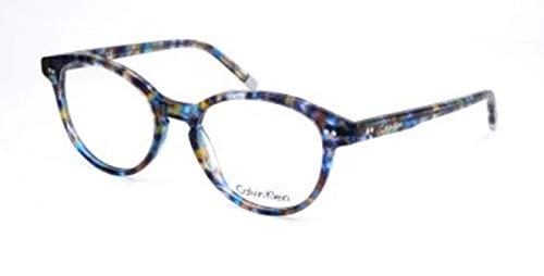 Calvin Klein 205W39nyc Ck5991 461 52 Monturas de Gafas, Spotted Bluee, Mujer