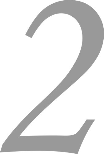 Selbstklebende Hausnummer - 2 - silber, 10 cm hoch - Kleben statt Bohren, Aufkleber für den Aussenbereich, Ziffer, Zahlen, Sticker auch als Wandtattoo, Fensteraufkleber und Türen