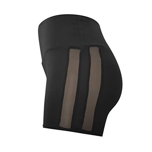 CXDS Leggings da allenamento senza cuciture per le donne a vita alta yoga pantaloni a compressione contorno, leggings a nido d'ape
