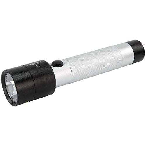 ANSMANN LED Taschenlampe X30 inkl. C Batterien - LED Handlampe optimal geeignet für alltägliche Einsätze im Haus Garten Garage Auto Werkstatt oder Outdoor Camping - LED Leuchte handlich & robust