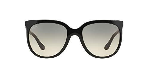 Ray-Ban RB4126 Cats 1000 Eye Sunglasses, Black/Grey Gradient, 57 mm