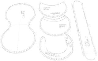 SNOWINSPRING Transparent Sac à Main en Cuir Artisanat Acrylique Portefeuille Sac ModèLe Gabarit Outil Outil Bricolage