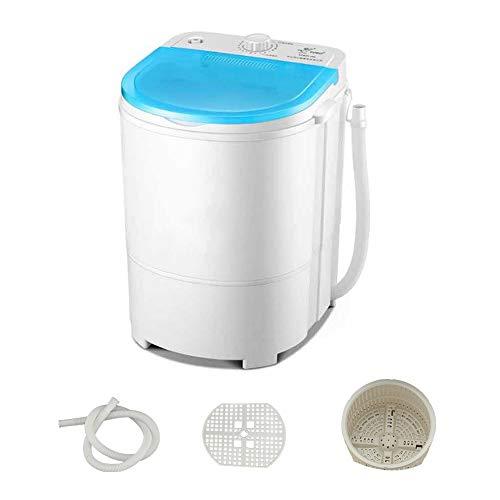 Mini lavadora / secadora portátil,Lavadoras compactas eléctricas Capacidad de la lavadora de zapatos 4,5 kg,Lavadora de una tina con temporizador para apartamentos, dormitorios y casas rodantes