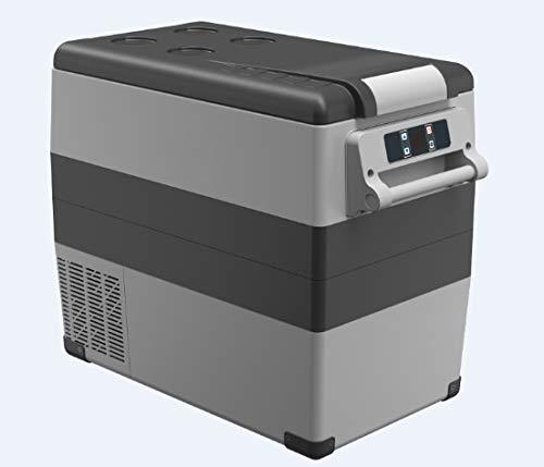 GNLIAN HUAHUA Frigorifero. 35/45 / 55literac / DC12 / 24V Compressore Portable Camping Picnic RV Auto Auto Frigorifero Mini frigo Deep Freezer Cooler Box Travel (Color Name : 55liters)