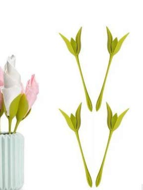 Woqook - Servilletero de Papel con Flores de Origami para