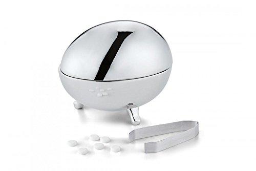 Philippi Jackie Süßstoff-Ei Nickel, hochglanzpoliert, inkl. Zange [A] [W]