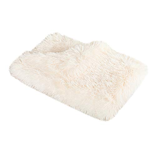 YUPPIE TONE Manta para Dormir para Mascotas Manta para Mascotas Suave y cálida, Mantas para Mascotas de Lana de Doble Espesor para Cama de Perro Suave, Coche