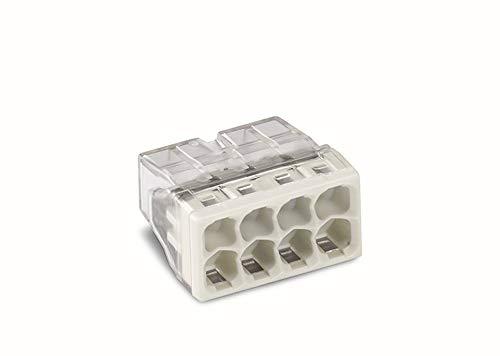 WAGO 2273-208 COMPACT-Verbindungsdosenklemmen, 8-Leiter, 50 Stück