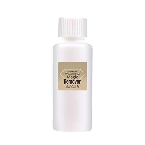 PanDaDa Magic Remover für Gel Nagellack mit großer Kapazität 18 ml / 28 ml, Professioneller ungiftiger Nagellack