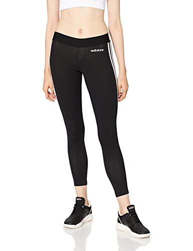adidas W E 3s Tight - Mallas, Mujer, Black/White, S
