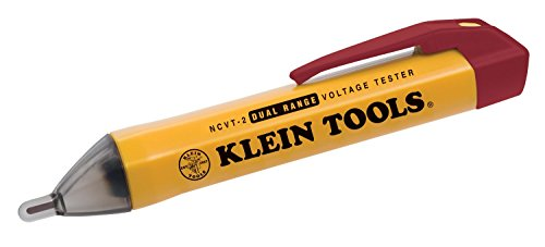 Klein Tools NCVT-2 Dual Range Non-Contact Voltage Tester - 2 Pack