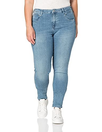 ESPRIT Damen 021EE1B318 Jeans, 903/BLUE Light WASH, 28/34