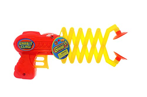JA-RU Robot Arm Claw Grabber, Grab it Claw Toy (1 Unit Assorted) 12 Inches Long. Pick Stick. Grabber Toys for Kids. Great Party Pack Favors Tool Toy. #5614-1A