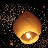 life's better Paper Flying Sky Lantern with Fuel Wax Block Candle