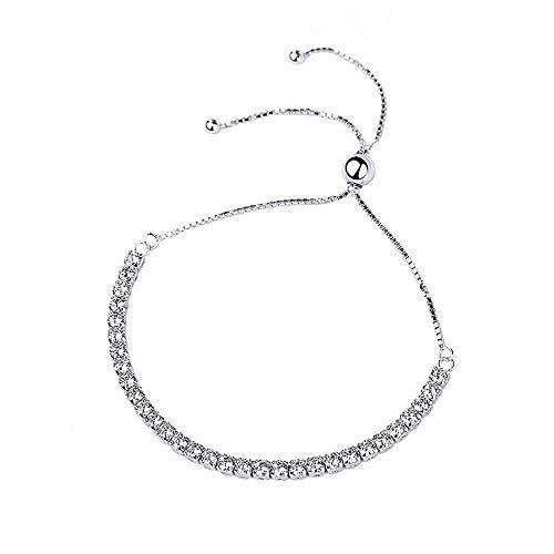 L.J.J S925 Sterling Silber Schmuck Perlen Einstellbare Armband Einfache Charme Persönlichkeit Silberschmuck