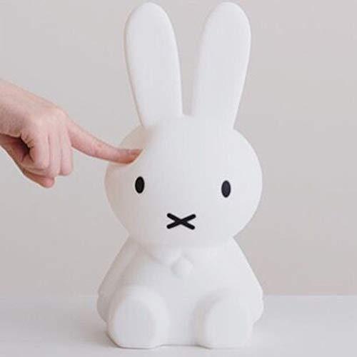 Hnxsy Miffy Kinderzimmer Kaninchen Stehleuchte Kleines Nachtlicht Led Licht Baby Fütterung Lampe Dekoration