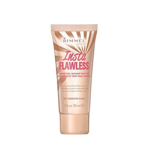 Three Pack Rimmel Foundation Insta Flawless Skin Tint 3x30ml Medium Dark 007