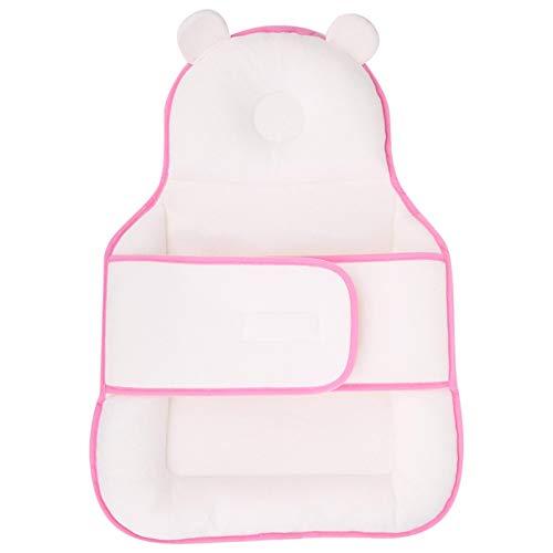 SALUTUYA Diseño Especial de la Almohada del posicionador del sueño para el bebé(Pink Sleeping Pad)