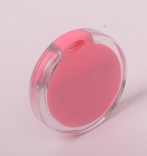 WYXIN Inteligente Inalámbrico Bluetooth Anti-perdida Dispositivo Llavero de Cristal Anti-perdida Posicionamiento Objeto Buscar Alarma Bidireccional , pink