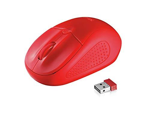Trust Mouse Ottico Wireless, Rosso