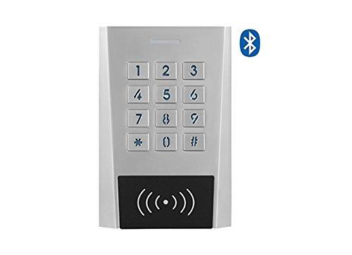 Secukey xk3-bt Zutrittskontrolle RFID Pin, IP66, Bluetooth, App Free und Standalone, Silber
