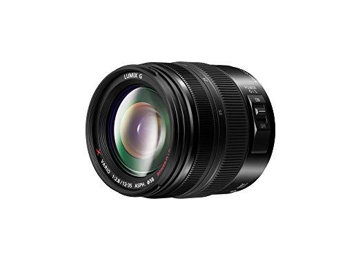 Panasonic LUMIX H-HSA12035 II - Objetivo Zoom estándar para cámaras de montura M4/3 (Focal 12-35 mm, F2.8, tamaño filtro 58 mm, lentes asféricas, resistente agua/polvo, POWER O.I.S), Negro