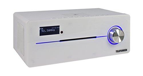 Telefunken MC1003N DAB+ Music System Kompaktanlage (Bluetooth 3.0, digitaler PLL-Tuner, NFC, MP3, CD/CD-R, AUX-In)