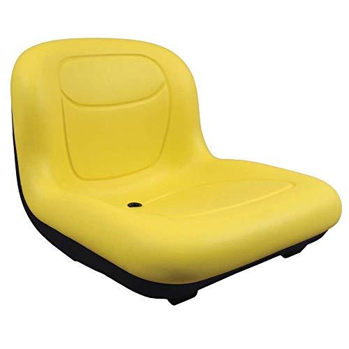 Stens High Back Seat, John Deere AM131531, ea, 1, Yellow
