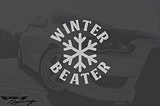 Seek Racing Winter Beater Decal car Truck Window Bumper Sticker JDM kdm Illest Low Euro Funny Joke
