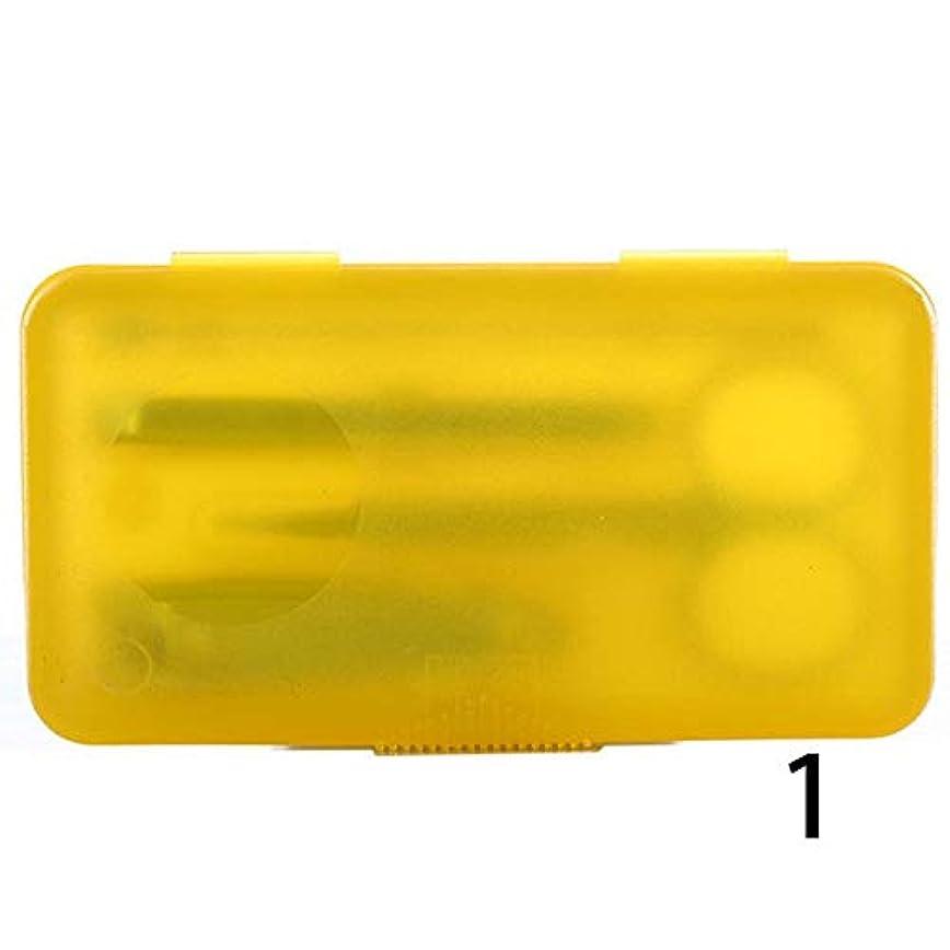 発症船上標準KIDQEYG 4本のステンレスマニキュアツールネイルはさみセットネイルクリッパーマニキュアスーツネイルアートマニキュアセットツール