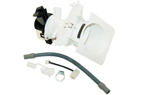 Bauknecht Waschmaschine Pumpe ablassen. Original-Teilenummer 481231028144 C00311139