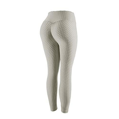 Ganghuo Calzado de tiburón de cintura alta leggings de las mujeres de levantamiento de cadera ejercicio fitness running leggings mujer yoga pantalones de levantamiento de cadera leggings