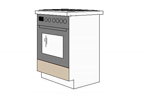 Küchen-Preisbombe Herdunterschrank passend für das Modell,Dave 240 Eiche Sonoma Trüffel'