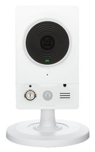 D-Link DCS-2132L Videocamera di Sorveglianza HD Cloud Wireless N, Day e Night, Bianca