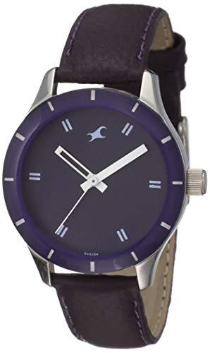 Fastrack Monochrome Analog Purple Dial Women's Watch