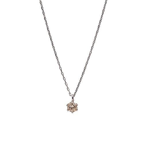 エステール(ESTELLE) 【WEB限定商品】K10 ホワイトゴールド ダイヤモンド ネックレス【**/00】